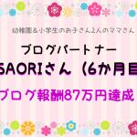 【音声対談】ブログパートナーのSAORIさんブログ売上87万円達成!(6か月目)